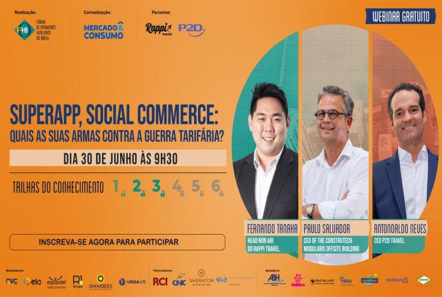 FOHB promove webinar com o tema Superapp e social commerce
