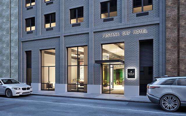 Hotel Pestana CR7 Times Square abre em soft opening em Nova York
