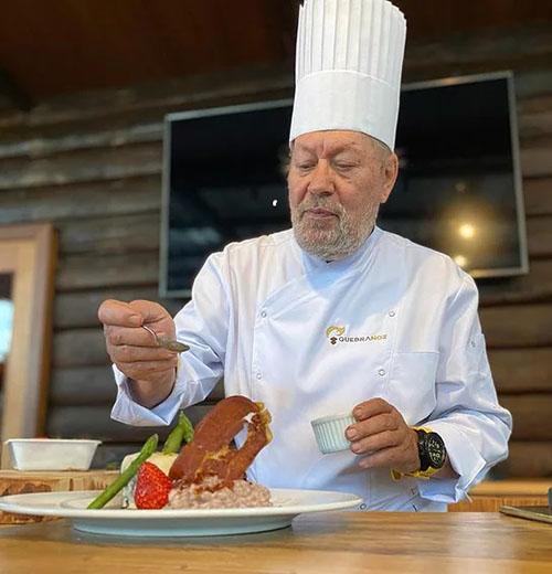 Hotel Boutique Quebra Noz lança prato assinado por Luciano Boseggia