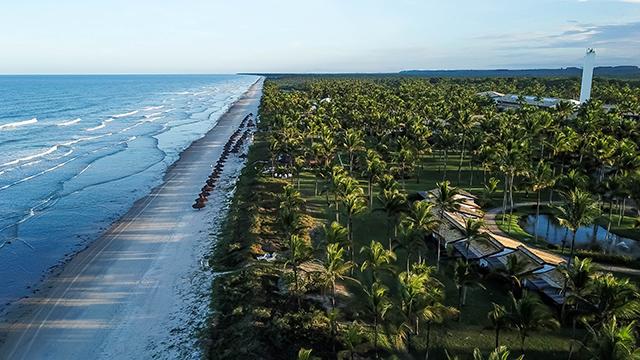 Transamerica Resort Comandatuba ganhará dois voos semanais com a LATAM