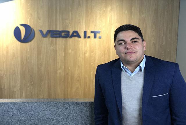 Vega I.T. contrata Diego Garcia como novo Gerente Comercial
