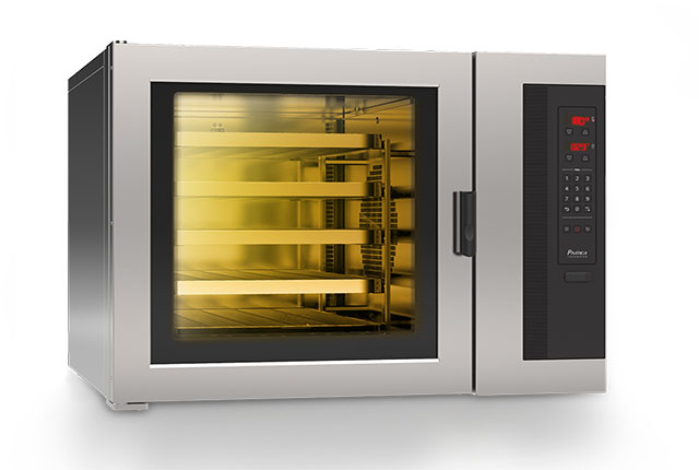 Pratica lança o HPE100, um forno de convecção compacto e atrativo
