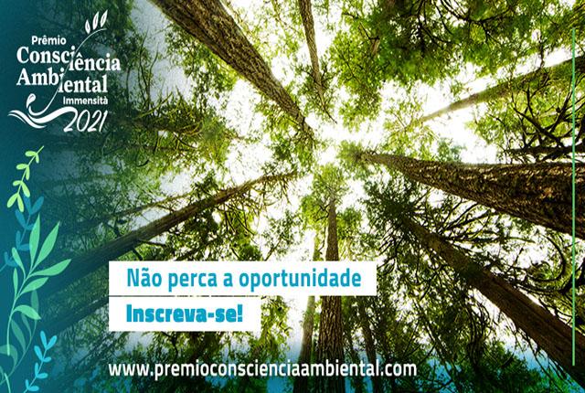 Espaço Immensità lança Prêmio Consciência Ambiental