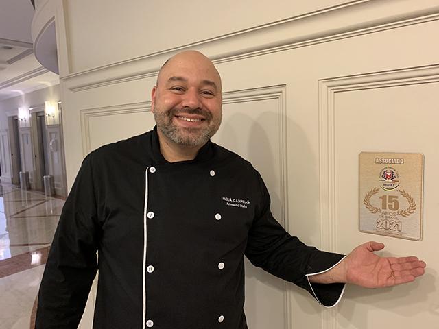 Armando Stella Neto é o novo Chef e Gerente de A&B do Meliá Campinas