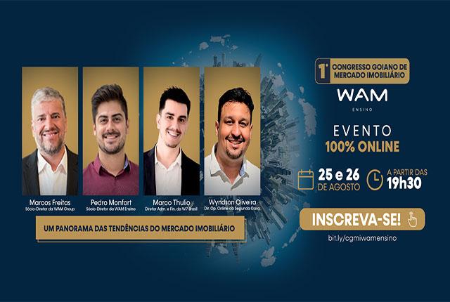Congresso Goiano de Mercado Imobiliário acontece em formato online