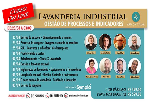 AS – Governança Hoteleira realiza curso de lavanderia industrial