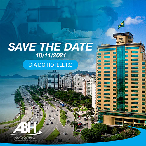 ABIH/SC prorroga comemoração ao Dia do Hoteleiro para 18 de novembro