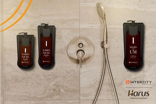 Intercity Hotels terá dispensers da Harus em todas as suas unidades