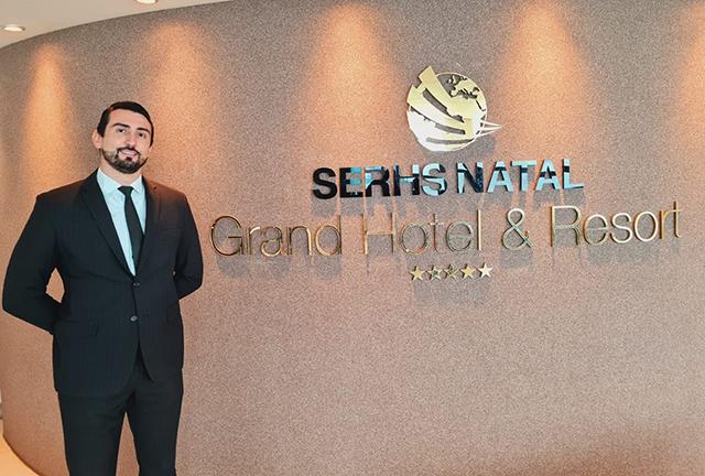 SERHS Natal Grand Hotel & Resort anuncia novo Gerente de Operações