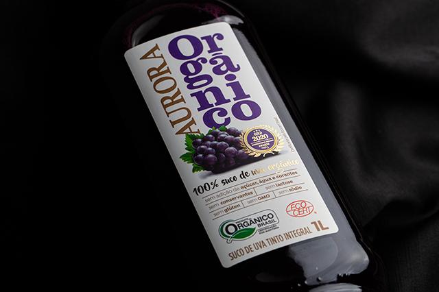 Marca de suco de uva integral lança produto orgânico