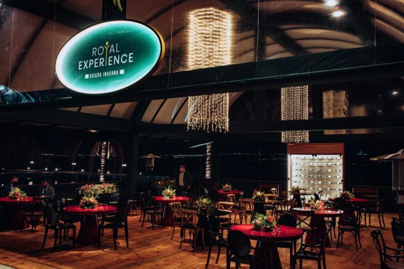 Royal Experience uma experiência gourmet e sensorial