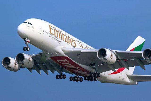 Emirates retoma voos diários para o Brasil com Airbus A380