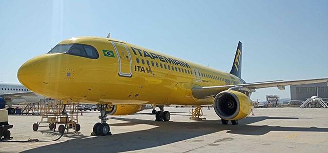 Chega ao Brasil a sexta aeronave da Itapemirim Transportes Aéreos