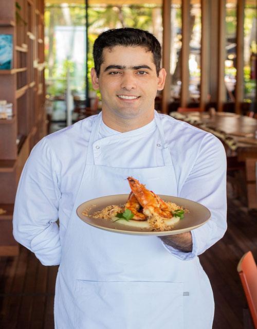 Carmel Taíba apresenta novo chef e faz releituras da culinária regional