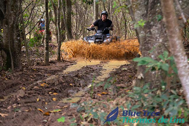 Blue Tree Thermas de Lins lança trilha para passeio de quadriciclo