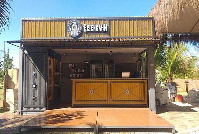 Hot Beach Olímpia e Heineken inauguram o bar Eisenbahn Beer Place
