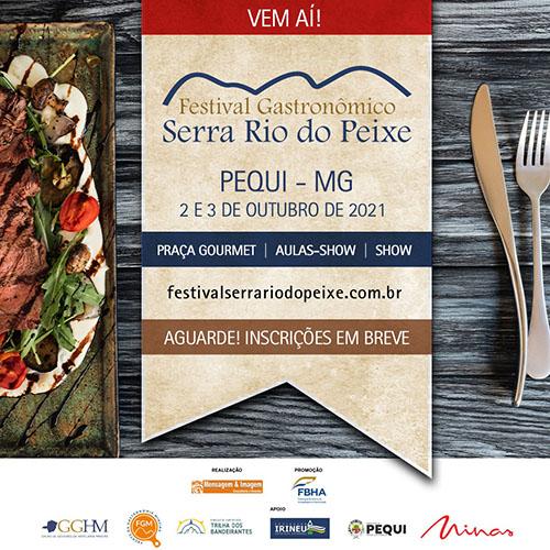 Renomados chefs participarão do Festival Gourmet Serra Rio do Peixe