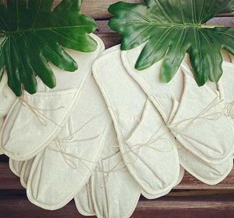 Pantufa eco friendly, Natufa foi desenvolvida com materiais biodegradáveis