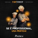 Prática equipa a terceira temporada do Top Chef Brasil da TV Record