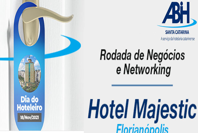 ABIH/SC promoverá Rodada de Negócios no Dia Nacional do Hoteleiro