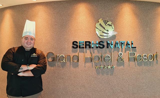 Rodrigo Praxedes é o novo Chef do SERHS Natal Grand Hotel & Resort
