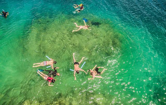 Flutuação em Parque Marinho é mais uma experiência no La Torre Resort