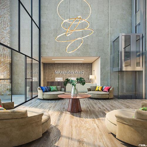 Wanderlust Experience Hotel está previsto para inaugurar em 2023