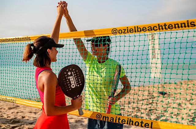 Maitei Hotel passa a oferecer aulas de Beach Tennis