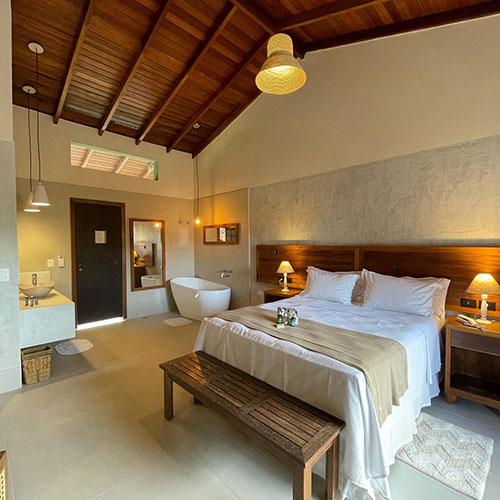 Hiu Hotel em Juquehy (SP) oferece conforto e exclusividade perto do mar