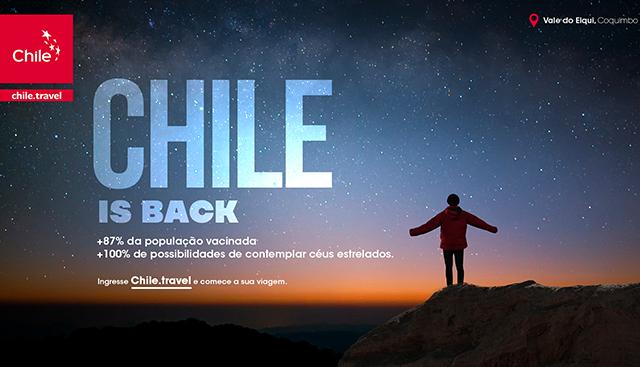 Chile retira obrigatoriedade de quarentena para turistas estrangeiros